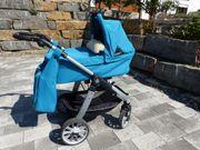 Teutonia Mistral Kinderwagen Buggy türkis