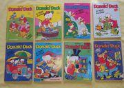 8 Taschenbücher mit Donald Duck