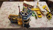 Großer Playmobil Flughafen mit Zubehör