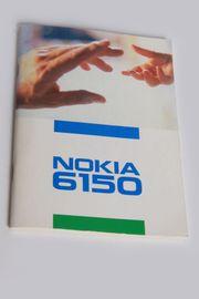 Bedienungsanleitung Nokia 6150 original Deutsch