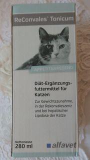 ReConvales Tonicim Diät-Ergänzungsfuttermittel für Katzen