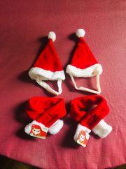 Katzen Hunde und Kleintier Weihnachtskostüm