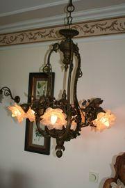 Putten-Leuchter Antik Bronze 500 00EUR