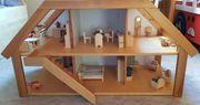 Puppenhaus HABA Holz massiv vollausgestattet