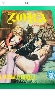 ZORA Fumetto erotico sexy - IL