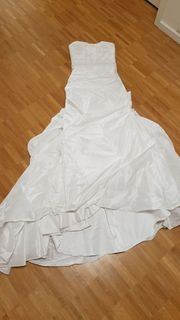 XS-S Brinkman Hochzeitskleid inkl Reifrock