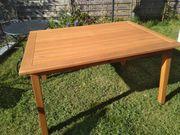Neuer Gartentisch