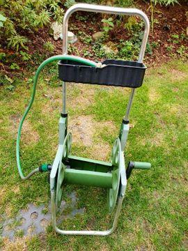 Gartengeräte, Rasenmäher - schlauchwagen