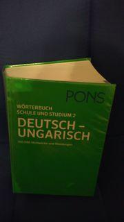 Wörterbuch Deutsch-Ungarisch