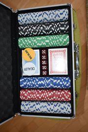 Profi Poker Set mit Karten