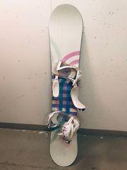 Burton Snowboard mit Bindung