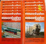 Eisenbahn Magazin Modellbahn Januar-Dezember 1995