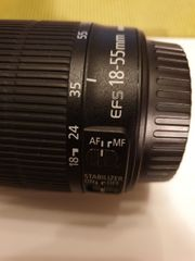 Canon Standardzoom 18-55 mm EF-S
