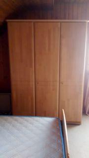 Schlafzimmer komplett Erle teilmassiv