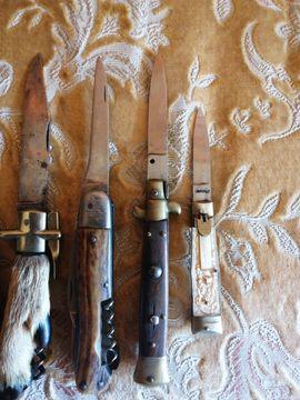 Sonstige Antiquitäten - Militaria Taschenmesser Jagdmesser und Klappmesser