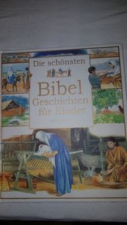 Kinderbibel wunderschön illustriert und getextet