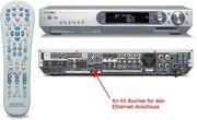 KENNWOOD Audio Video Receiver VRS-N8100