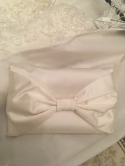 Clutch Ivory - passend zum Brautkleid