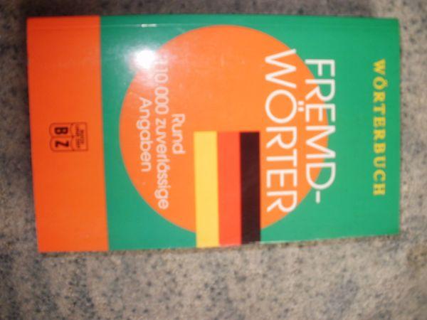 Fremdwörterbuch zu verkaufen