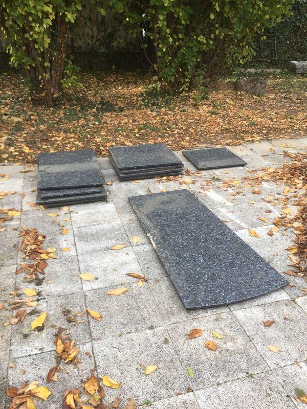 Granitplatten Steinplatten In Ladenburg Sonstiges Fur Den Garten
