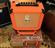 Seltene Orange Crush 10 Gitarrenverstärker