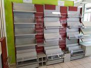 Ladeneinrichtung Ladenregale Kassentisch Ladenmöbel