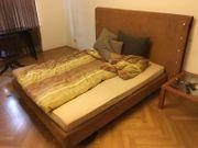 Zu verschenken Doppelbett mit Lattenrost