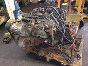 Lancia Motor V6 und Getriebe