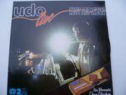 Musikschallplatten Udo Live Lust am