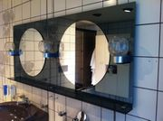 Großer Badspiegel mit Beleuchtung für