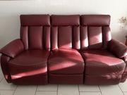 Echtleder Relaxsofa 3er Couch Leder