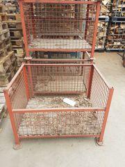 Gitterboxen Metall gebraucht