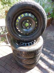 Stahlfelgen mit Reifen für VW