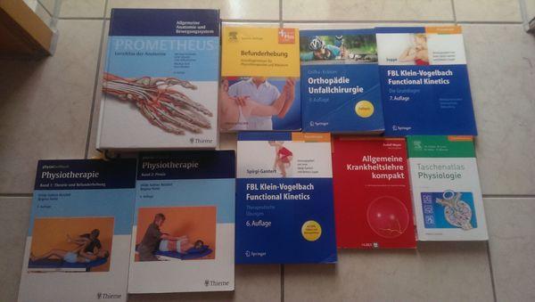 Fachbücher für Physiotherapeuten zu verkaufen