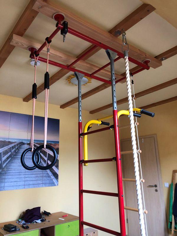 Klettergerüst Kinderzimmer indoor klettergerüst kletterturm fürs kinderzimmer in waghäusel