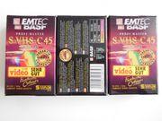 NEUE EMTEC BASF S-VHS-C45 IM