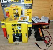 Power Plus 12v und Spannungswandler