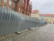 50m Bauzaun Trapezblech Absperrzaun Zaun
