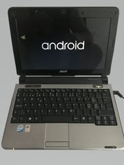 Acer aspire one Black 10