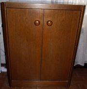3 Wohnzimmerschränke - Wohnzimmerschrank-Kombination B 90