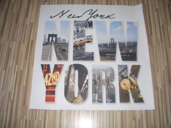 Poster Tapete New York 97x97