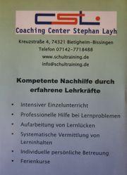 Kompetenter Einzel-Nachhilfe-Unterricht