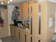 Küche zwei Zeilen Neff-Edelstahl-Geräte habemat