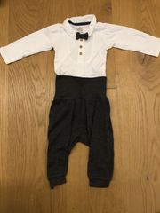 Baby Set - Body mit Fliege
