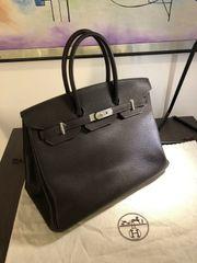 Hermes Birkin 35 Togo Handtasche