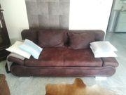 Schönes Sofa Couch Schlaffunktion Bett