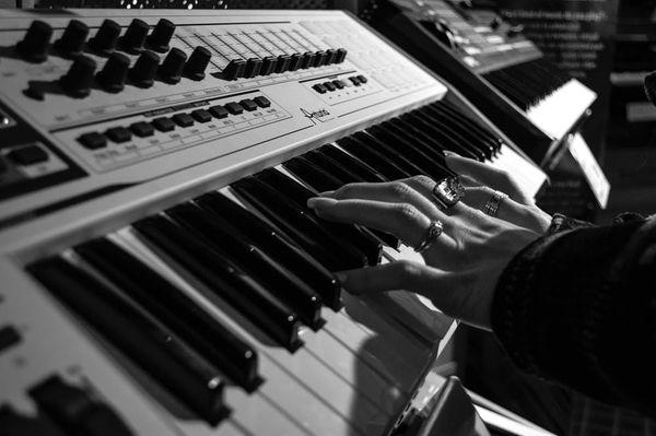 Keyboarder in für Status Quo
