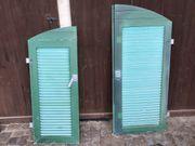 5 Fensterläden Holzoptik sehr gut