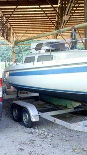 Kajütsegelboot Modell Neptun 22