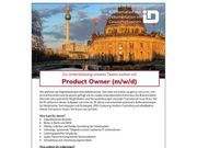 Product Owner m w d